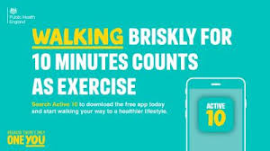 Focus on brisk walking, not just 10,000 steps, say health experts