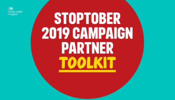Stoptober 2019 - information for professionals