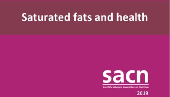 SACN Report on Saturated Fat